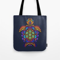 turtle Tote Bags featuring Turtle by ArtLovePassion