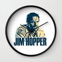 jim hoppe Wall Clock