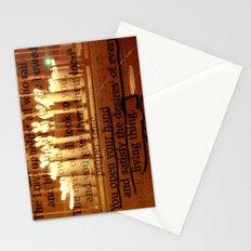 Psalm 145:16 Stationery Cards