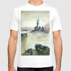 MAIDEN'S TOWER MEDIUM White Mens Fitted Tee