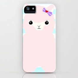 Alpaca In Love  iPhone Case