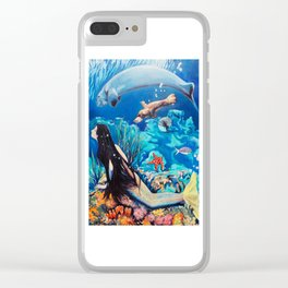 The Little Mermaid Clear iPhone Case