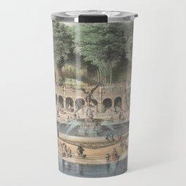 Bethesda Terrace Central Park Vintage Artwork Travel Mug
