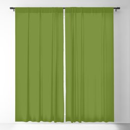 Ligth green - Ant in a flower Blackout Curtain