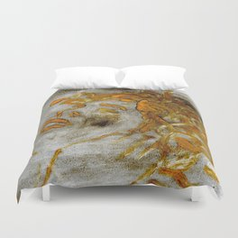 Medusa-The Trauma Duvet Cover