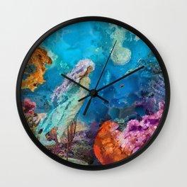 Medusas Garden Wall Clock