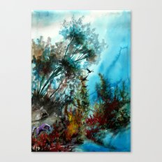 Vergangenheit Canvas Print