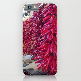 Red Chilli Peppers iPhone Case