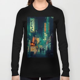 Tokyo Nights / Memories of Green / Blade Runner Vibes / Cyberpunk / Liam Wong Long Sleeve T-shirt