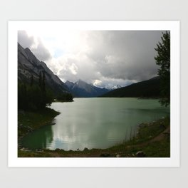 Dark Skies Over Medicine Art Print