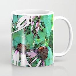 Watercolor Echinacea Coffee Mug