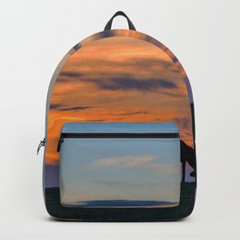 Grazing at sunset Backpack