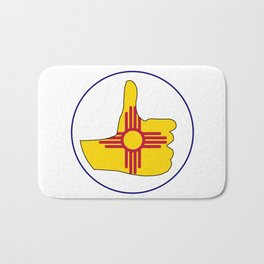 Thumbs Up New Mexico Bath Mat