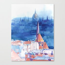 Morning in Budapest Canvas Print