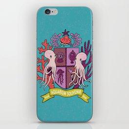 The Royal Aquarium Souvenir Shop iPhone Skin