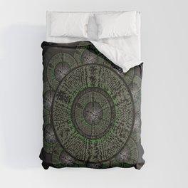 The Grey Flower Comforters