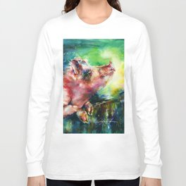 Charlie - by Kathy Morton Stanion Long Sleeve T-shirt