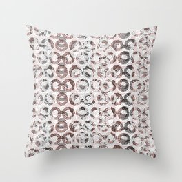 Intricate Chaos Throw Pillow