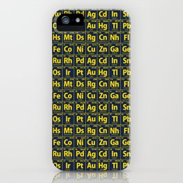 Elements of the Periodic Table iPhone Case