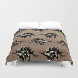 ChocoPaleo: Stegosaurus Duvet Cover