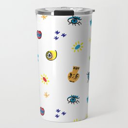 Cubist Me Travel Mug
