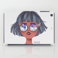 kaleidoscope iPad Cases featuring Kaleidoscope by Anoosha Syed
