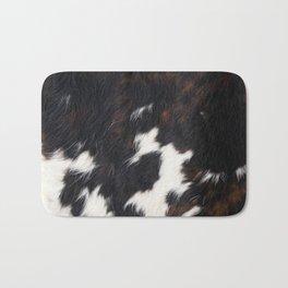 Cowhide Texture Bath Mat