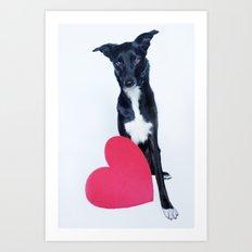 Little Valentine Art Print