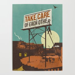 TAKE CARE OF EACH OTHER Poster