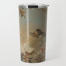 Allegory of the Planets and the Continents by Giovanni Battista Tiepolo Travel Mug