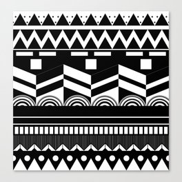 Graphic_Black&white #2 Canvas Print