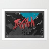 Legion of Demons (By Nate Utesch) Art Print