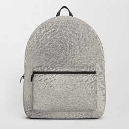 Simply Metallic in Silver Backpack