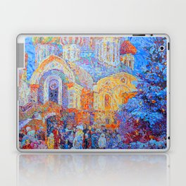 The Temple of the Holy Great Prince Igor of Chernigov in Peredelkino Laptop & iPad Skin