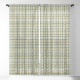 Weaves pattern 4 Sheer Curtain