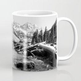 Maroon Bells Mountains Colorado Coffee Mug