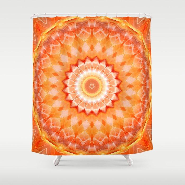 Mandala positive Energy Shower Curtain