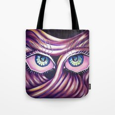 Emotional Eyes Tote Bag