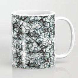 Silver gray shiny colors rock stone Coffee Mug