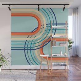 Rainbow Arch Minimal Abstract #2 #decor #art #society6 Wall Mural
