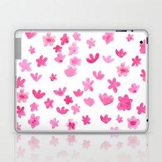Pink Blooms Laptop & iPad Skin