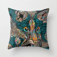 Fox (Feat. Bryan Gallardo) Throw Pillow