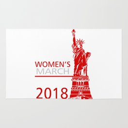 Womens March Liberty Rug