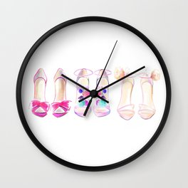 Shoes no 1 Wall Clock