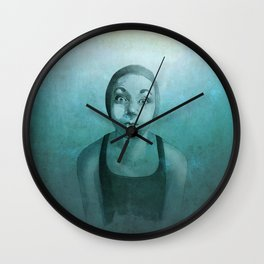 Apnea Wall Clock