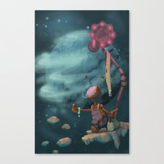 Hitching Canvas Print