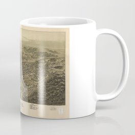 Aerial View of Tyrone, Pennsylvania (1895) Coffee Mug