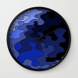 Venture In Darkness Wall Clock