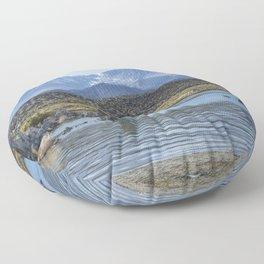 Mono Lake Tufa, No. 6 Floor Pillow