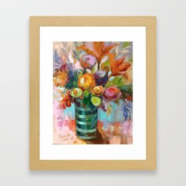 Bloom Fresh Framed Art Print